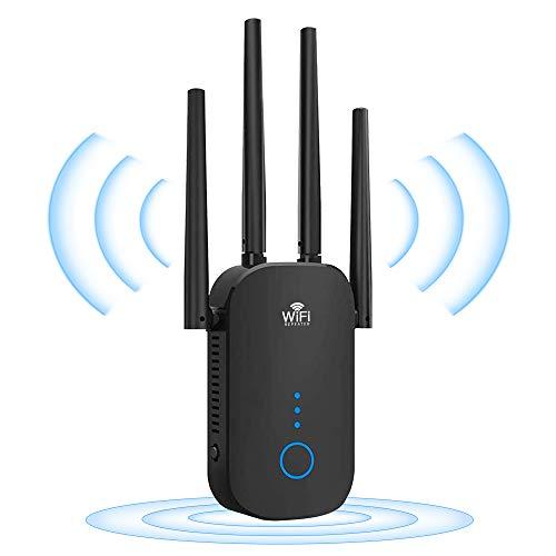 WLAN-Wireless Repeater WLAN-gigacube Verstärker Client - 1200 Mbit/s Dualband 5...