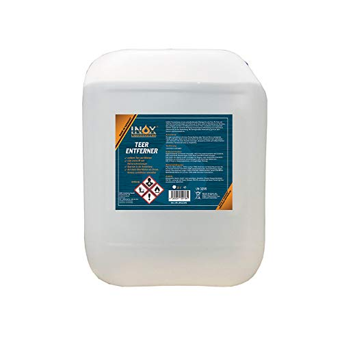 INOX® Auto Teerentferner 5L - Teerreiniger für Innenraum und Außen -...