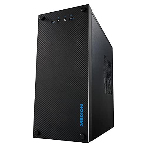 AKOYA PC E36002 Performance PC, AMD Ryzen 3, Windows 10 Home, GeForce GT 1030,...