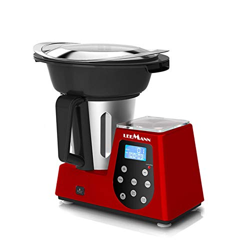 Multifunktions-Küchenmaschine Cooker, Rot