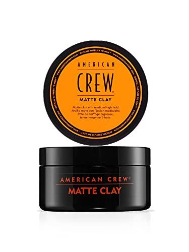 AMERICAN CREW – Matte Clay, 85 g, Stylingclay für Männer, Haarprodukt mit...
