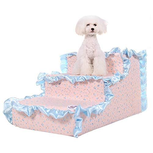 CCJW Pet Stairs 3 Schritte für kleine Hund Katze Sofa Mat Step Hocker Bett...