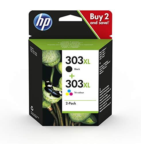 HP 303 Multipack Original Druckerpatronen für HP ENVY Photo 6230, 7130, 7830,...