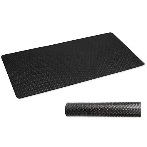 CCLIFE ZERRO Bodenschutzmatte rutschfeste Schutzmatte für Fitnessgeräte...