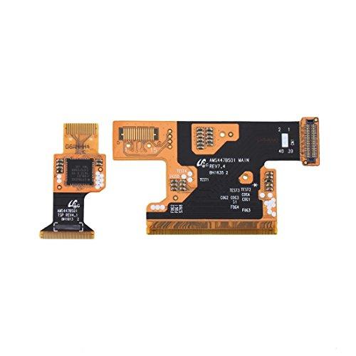 ZHAOHEMAOYI Ersatz inchs Weiß-Antennen-Flexkabel-Band EIN Paar for Galaxy S5...