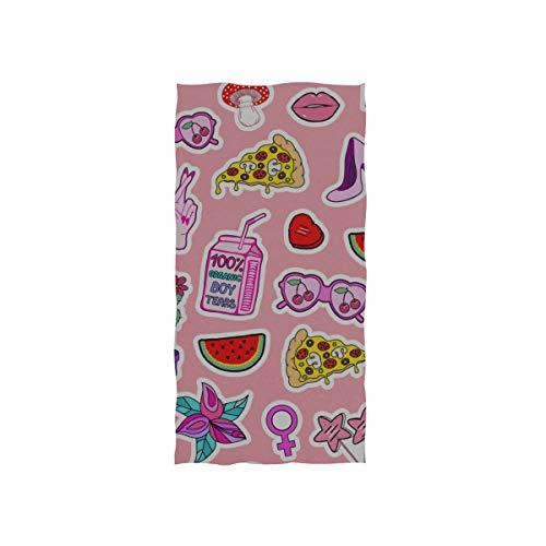 N\A Handtücher Strand Kreative Frucht Wassermelone Charakter Weiche Handtuch...