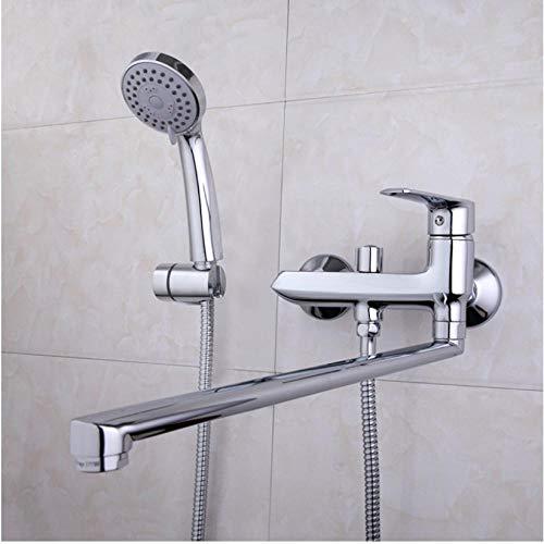 Zglizty Hochwertige Lange Nase Bad Dusche Armaturen Badewanne Wasserhahn...