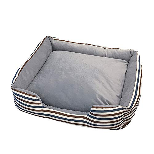 XYBB Haustierbett Hund warm abnehmbare Kissenmatte Big Size Pet Hundebetten Sofa...