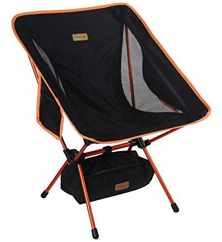 Trekology YIZI GO tragbarer Campingstuhl mit Verstellbarer Höhe - Kompakter,...
