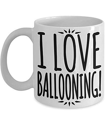 Heißluft-Ballon-Kaffeetasse - ich mag im Ballon aufsteigen