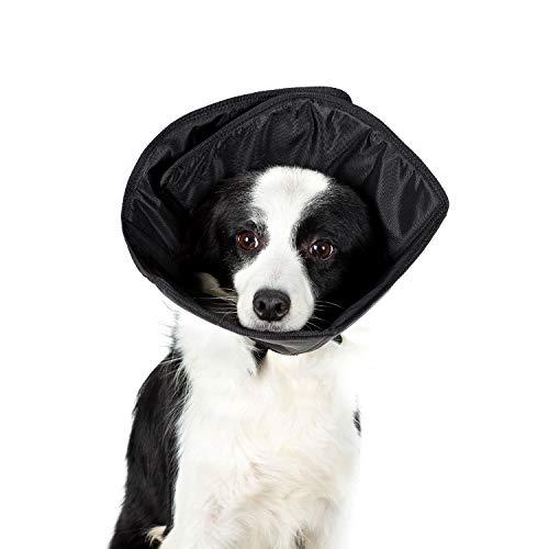 OneTigris Halskrause für Hunde Haustiere einstellbar Elizabethan No Lick Cone