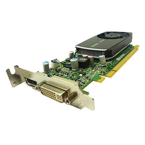 nVidia Quadro 400 642229-001 645557-001 P1052 PCIe DVI Display Low Profile
