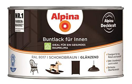 Alpina Buntlack 300ml innen Acryllack glänzend Lacke Farben
