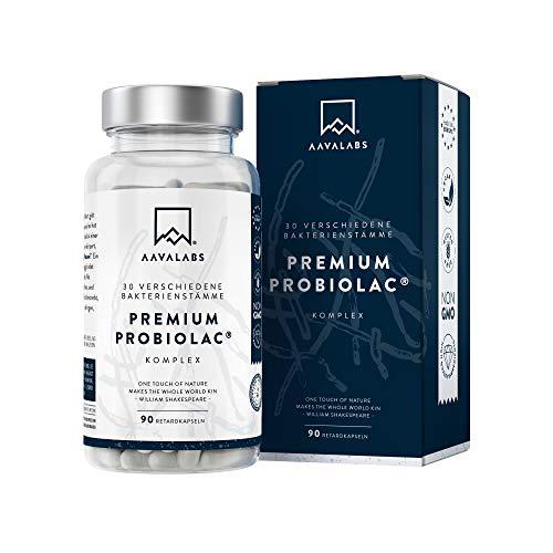 Premium Kulturen Komplex [120 Mrd KBE] je Tagesdosis - 30 Bakterienstämme (3x...