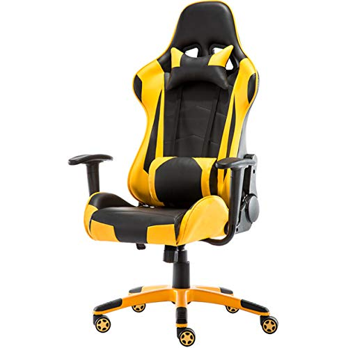 huasa Gaming Stuhl Bürostuhl,Gamer Ergonomischer Stuhl mit Wippfunktion Gamer...