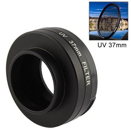Objektivfilter 37 mm UV-Filter Objektiv mit Deckel für GoPro Hero 4/3+/3