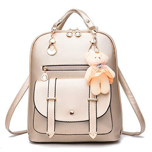 Rucksack, Frauentasche, Modetasche für Studenten, Lässige Schultasche im...