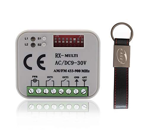 KASER RX Multi Universal Empfänger 2 Kanäle Funkempfänger für Automatisches...