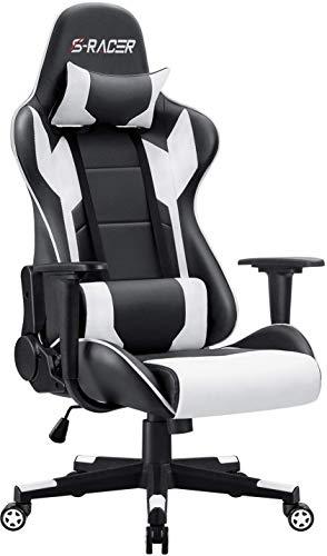 Homall Gaming Stuhl Racing Computerstuhl Ergonomischer Bürostuhl Gamer Stuhl...