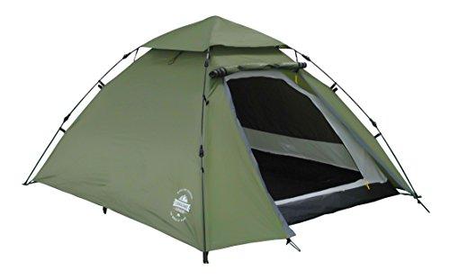 Lumaland Outdoor Pop Up Kuppelzelt Wurfzelt 3 Personen Zelt Camping Festival...