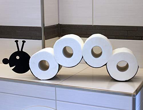 DanDiBo Toilettenpapierhalter Raupe WC Ersatzrollenhalter Toilettenrollenhalter...