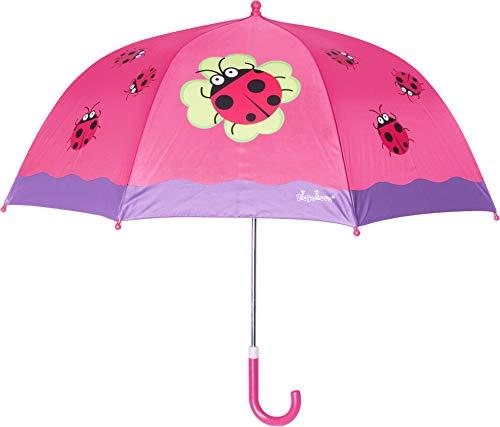 Playshoes 448583 Glückskäfer Regenschirm, Rosa (original 900),...