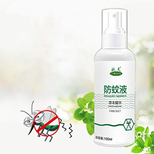 Moent Schädlingsbekämpfung 100ML Anti-Mückenspray Mückenschutz-Wasserspray...