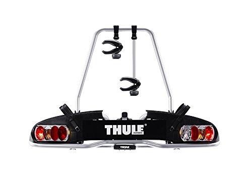 Thule 915020 EuroPower 915 Anhängerkupplungs-Fahrradträger, Silber, 2...