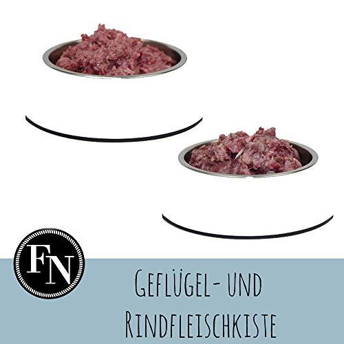 Barfpaket Geflügel- und Rindfleischkiste 20 kg, artgerechtes Tiefkühlfutter,...
