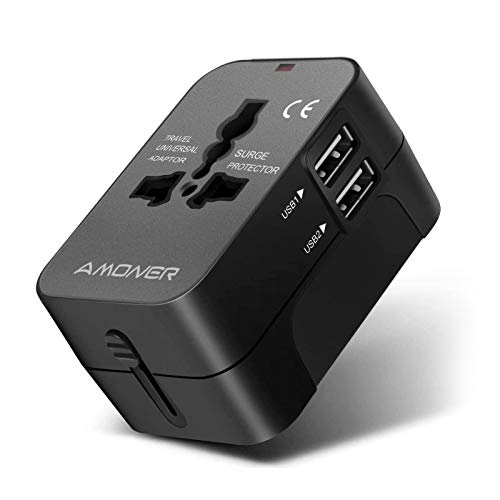 Amoner Reiseadapter Steckdosenadapter Universal Adapter Travel Plug Stromadapter...
