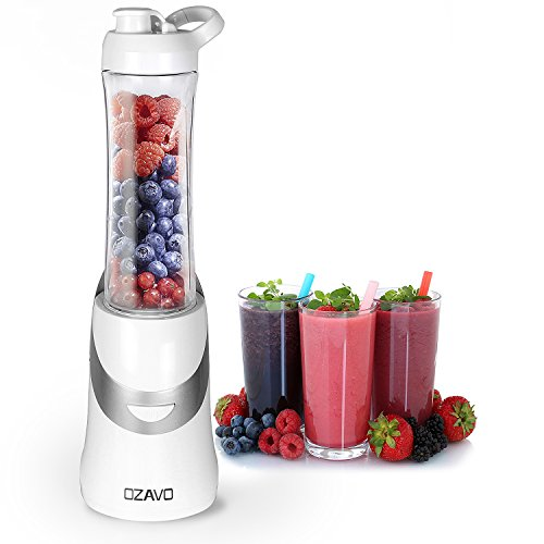 OZAVO Standmixer, Smoothie Maker, Blender 350W, BPA frei, 600ml...