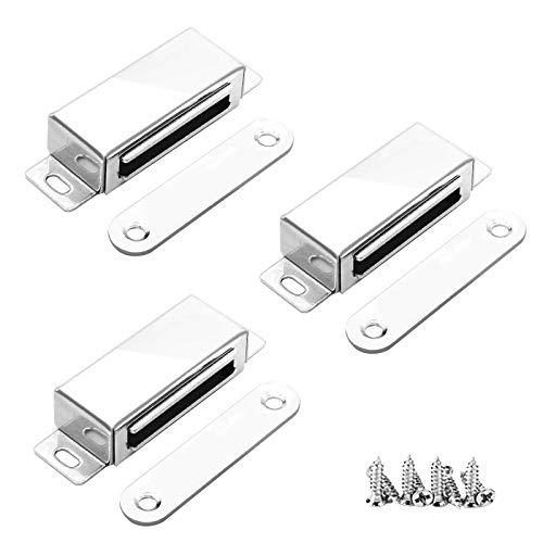 3 Stück Magnetschnäpper, 20 kg Onehous Tür Magnetverschluss Tür Fang...