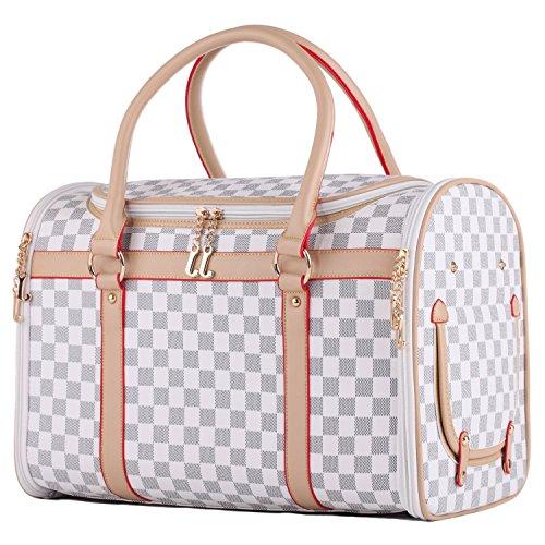 Groß Transporttasche Hundebox Katzenbox Tragetasche für kleine Hunde bis 5kg...
