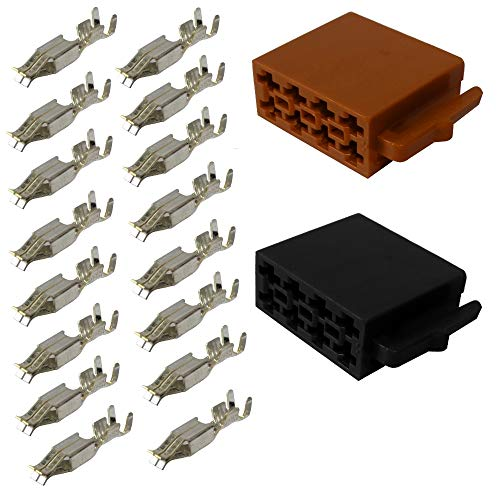 AERZETIX - C11038 - Steckverbinder - ISO 16PIN - Kabelbaum Universal...