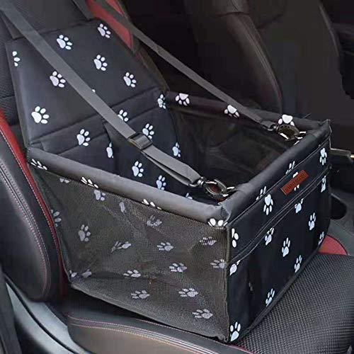 SWIHELP Hundesitz für Auto Rücksitz für kleine bis mittlere Hunde - stabiles...