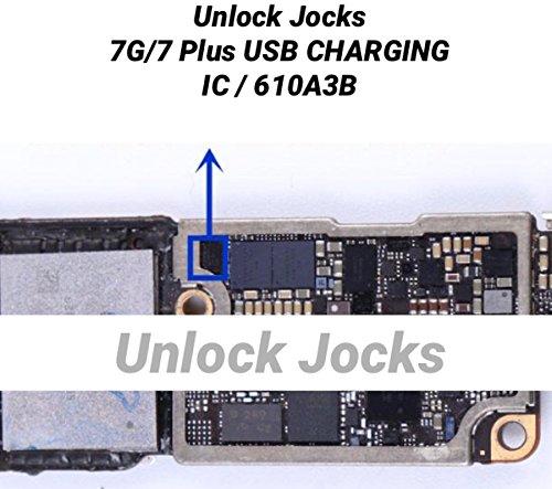 Tristar Logic 1610A3B USB Lade-IC U2Ersatz Chip für iPhone 77Plus