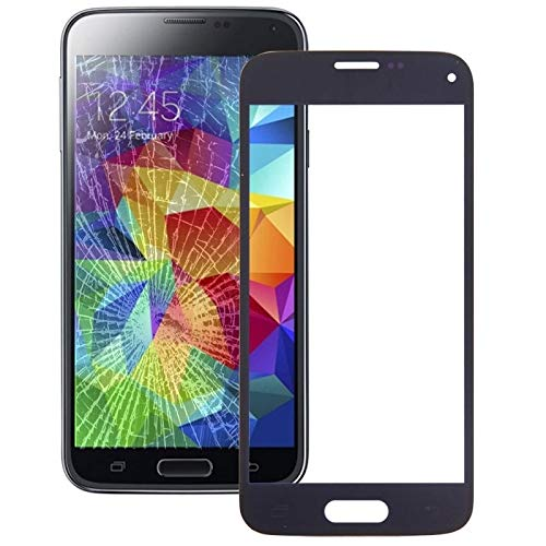 Für Äußere Glaslinse der Frontscheibe for Galaxy S5 Mini (Dunkelblau) Mobile...