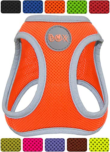 DDOXX Brustgeschirr Air Mesh, Step-In, reflektierend, verstellbar, gepolstert |...