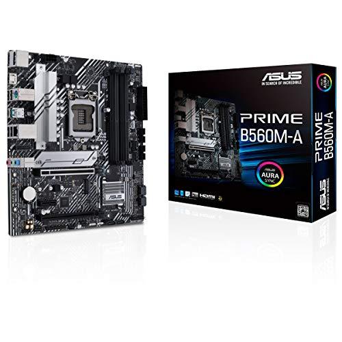 ASUS Prime B560M-A Gaming Mainboard Sockel Intel LGA 1200 (mATX, 2x M.2, USB 3.2...