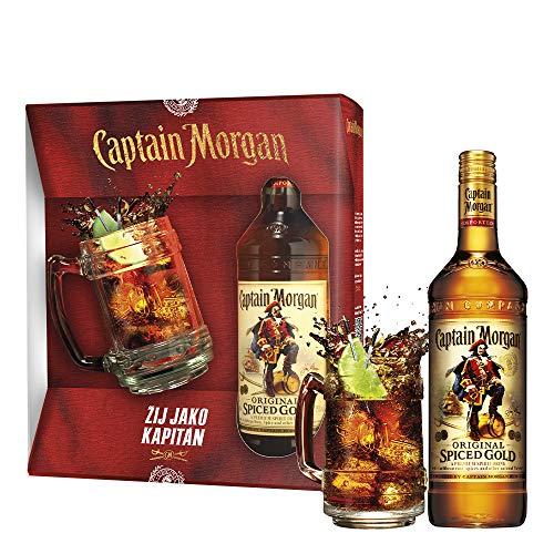 Captain Morgan Original Spiced Gold Set inkl. Krug und Geschenkverpackung (1 x...