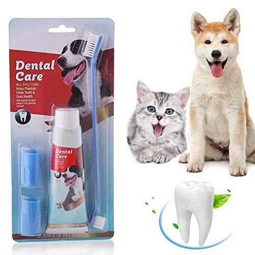 SEGMINISMART Hundezahnbürste,Zahnpflege für...