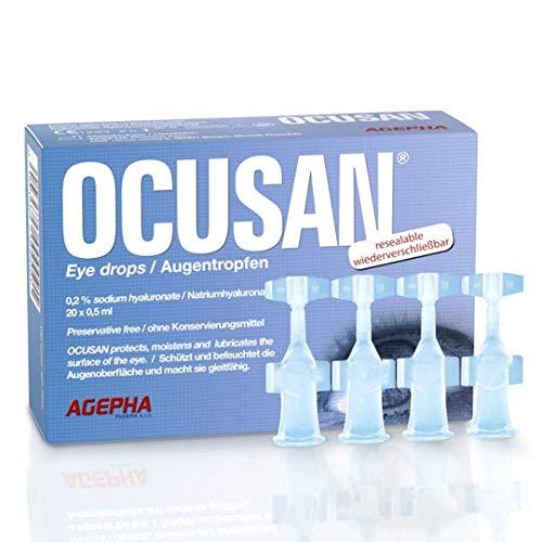 Ocusan® EDO Augentropfen in Einzeldosen Mit Hyaluronsäure und Ohne...