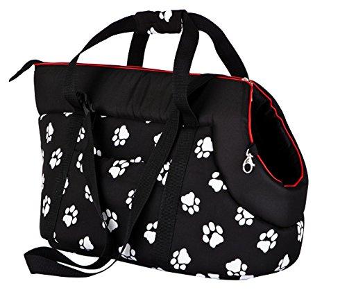 Hobbydog TORCWL3 Hundetasche Tragetasche Katzentasche mit Pfoten, Größe 40 x...