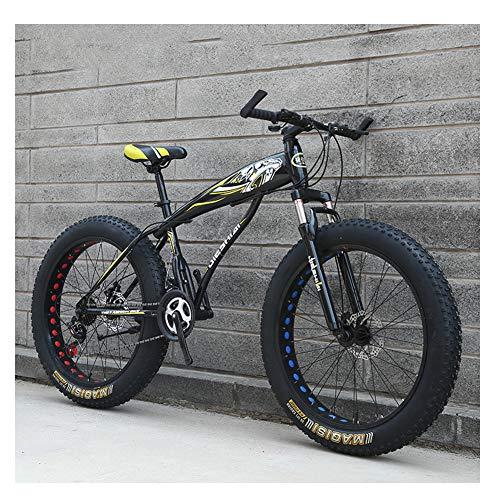 NENGGE Erwachsenen Mountainbike, Herren Mädchen Fahrräder, Scheibenbremsen...