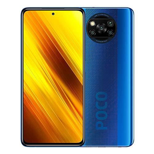 Xiaomi Poco X3 NFC - Smartphone 128GB, 6GB RAM, Dual SIM, Cobalt Blue