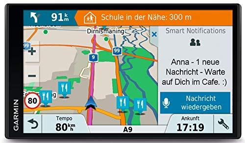Garmin Drive Smart 61 LMT-D EU Navigationsgerät, Europa Karte, lebenslang...
