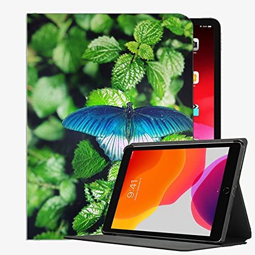 Für iPad Pro 9.7 Fallabdeckung, Schmetterlingslaubgrün Green Pad147 Fall Slim...