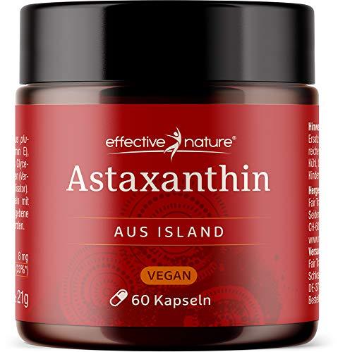 effective nature vegane Astaxanthin Kapseln - Entwickelt und produziert in...