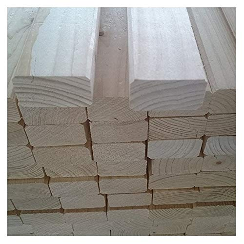 Naturbelassenes Holz 10 Stück B/C - Ware KVH Rahmenholz 24mm x 44mm x 2000mm...