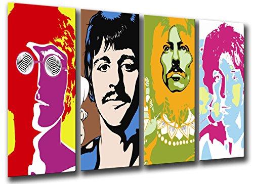 Kamera-Poster Fotografie Beatles, John Lennon, Paul Mccartney Gesamtgröße: 131...